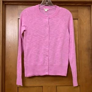 Crewcuts Caroline Cardigan Sweater Pink Girls 16